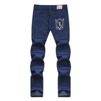 Wholesale Women Pattern Winter Trousers - Wholesale-jeans woman ZILLI Leisure letter embroidery jeans Italian billionaire Winter men's jeans Brand clothing trousers jeans