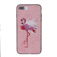 Wholesale Phoenix Bodies - 3D Embroidery Handmade Crafts Phoenix Dragon Hybrid Armor Shockproof Full-Body Protetive Case For iPhone 7 6 6s Plus Samsung S8 Plus OPPBAG