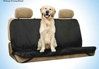 Wholesale car protectors for dogs for sale - Group buy Car Pet Seat Covers Waterproof Back Bench Seat cover for Pet Cat Dog Mat Anti dust Car seat Protector with Belts for Sedan B