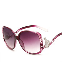 Wholesale High Definition Models - Hot Female Models Sunglasses Simple wild Fashion Decorative Glasses High-definition Polarized Anti-ultraviolet Driving Driving Female Toad