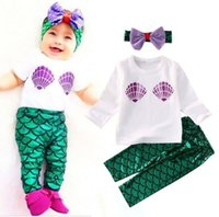 3e5479575 Wholesale Little Mermaid Baby Clothes - Buy Cheap Little Mermaid ...