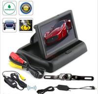"""Wholesale Car Backup Camera Monitor System - Car Rear View System Wireless Backup Camera Night Vision + 4.3"""" TFT LCD Monitor"""