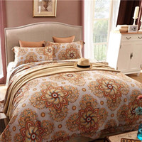 Wholesale Horse Machine - 4 Piece Horse Bedding Sets Classical Luxury Bed Sheets Soft Tencel Cotton Printed Reversible Ethnic patterns Sheets Quilt Pillowcase