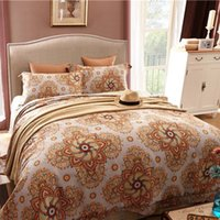 Wholesale 4 Piece Horse Bedding Sets Classical Luxury Bed Sheets Soft Tencel Cotton Printed Reversible Ethnic patterns Sheets Quilt Pillowcase