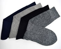 Wholesale Thick Winter Socks For Men - 2017 Mens socks Thick Winter Socks Casual Breathable Full Terry for Free Shipping Clothing Accessories YD-M-032
