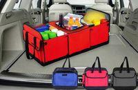 Wholesale Car Trunk Storage Coolers - Car trunk storage bag Oxford Cloth folding truck storage box Car Trunk Tidy Bag Organizer Storage Box with cooler bag