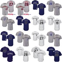 Men black stories - Men s Colorado Rockies Nolan Arenado Todd Helton Charlie Blackmon Trevor Story FlexBase cool base Baseball Jerseys stitch