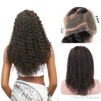 Kinky Curly 360 Lace Frontal Closure Pre Plucked With Adjustable Band 8-20