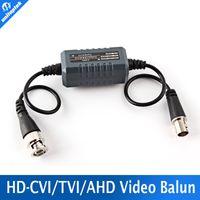 Wholesale Bnc Video Ground Loop - 1Pcs HD Coaxial Ground Loop Isolator Video Balun BNC Male to Female For Analog HD CCTV Camera AHD TVI CVI
