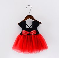 Wholesale Baby Girls Brace Skirt Bow - New Fashion 2017 European and American Summer Girls' Dresses Bubble Children Braces Floral Lace Baby Kids Skirt
