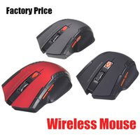 Wholesale pcs energy - 113 NEW Wireless Mouse 6 key USB Optical Receiver Mouse 1200DPI Energy-Saving Mice for Game Computer Tablet PC Laptop With white box DHL