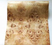 ingrosso legno di pioppo-Larghezza di 2,5 metri / pc: 60 cm Spessore: 0,3 mm Altoparlante impiallacciatura di legno albero di pioppo sottile naturale