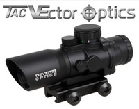 Vector Optics Talos 4x32 Tactical Compact Fucile Prism Scope Fit AR15 AK47 con Chevron .223 4/6 Ballistic Ballast