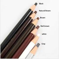 Wholesale Permanent Eyebrow Pencils - Wholesale New Waterproof eyebrow eyeliner lip pencil for permanent makeup sourcils permanent lapiz labios Free Shipping