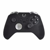 funda protectora para el controlador xbox one al por mayor-Funda protectora de silicona cubierta de agarre para Xbox One elite wireless control