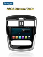 Dispositivo di navigazione dell'automobile Asvegen per Nissan Tiida 2016 con il supporto dello schermo di tocco di GPS dell'automobile Audio Video Radio giocatore MP3 / MP4 Bluetooth