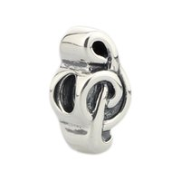 Perlen Hunter Jewelry Authentische Sterling Silber 925 Treble G Notenschlüssel Note Melodie