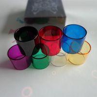 Wholesale Tube Ones - Smok Stick v8 AL85 Alien 220w TFV8 Baby TFV12 Vape Pen 22 Brit One Mini Tank Glass Tube