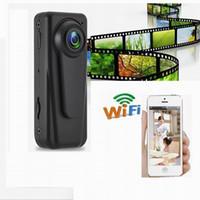 Wholesale F1 Mini - New WI-F1 WiFi Wireless HD 1080P Sports DV Portable Mini Camera Wide Len Audio Video Recorder Motion Detection Car DVR Dashcam
