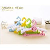 5pcs Brand Multifunction Child Plastic Clothing Drying rac Little Baby Newborns Stand dédié Stand Rack Hangers Wholesale Livraison gratuite