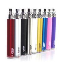 Wholesale Ego C Twist Vv - Vision Spinner I ego c twist 3.3-4.8V Variable Voltage VV battery 650 900 1100 1300mAh e cigs cigarette for ego atomizer