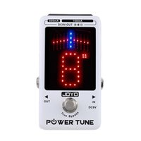 Wholesale Joyo True Bypass - JOYO New Arrival!!! Power Tune True Bypass Electric Guitar Bass Tuner & 8 Port Multi-power Power Supply Supplier Effect