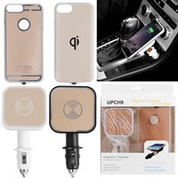Wholesale Wireless Phone Charger Case - 2017 Qi Standard Wireless Charger Receiver case with wireless charger dock For Smart Phone,Mobile phone,Android phone Cover