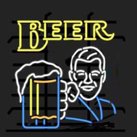 Wholesale beer neon bar signs - Fashion New Handcraft Beer Design Real Glass Beer Bar Display neon sign 19x15!!!Best Offer!