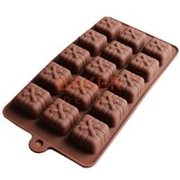 Wholesale Silicone mold even bow box chocolate mould ice tray ice mold CDSM