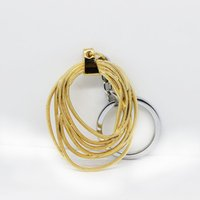 Wholesale Whip Women - Hot Movie Wonder Woman Keychain Vintage Antique Gold Whip Pendant Key Chain Key Rings Wholesale