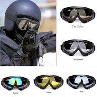 Wholesale Snowboard Skate Goggles Glasses - Professional Unisex Snow Windproof X400 UV Protection Outdoor Sports Anti-fog Ski Glasses Snowboard Skate Skiing Goggles