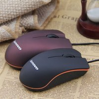 mouse de computador de qualidade venda por atacado-Lenovo M20 Rato Com Fio USB 2.0 Pro Gaming Mouse Mouse Óptico Para Computador PC de Alta Qualidade