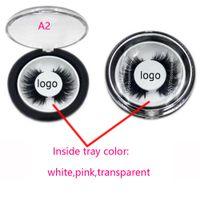 Wholesale Plastic Custom Labels - private label custom eyelashes box private package custom package of false eyelashes