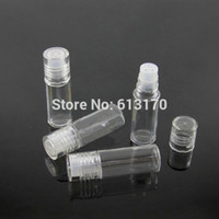 Wholesale Loose Glass Glitter - 3G Mini Small loose Powder Jars bottle with Sifter Mesh Clear Empty Diy nail glitter container Packing bottle free shipping