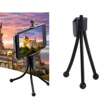 Wholesale Tripod Stand For Projector - Universal Flexible Tripod Phone Holder Bracket Projector Mini Stand Monopod Adjustable Camera Accessories Adapter Bracket For Smart phone