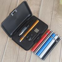 Wholesale Push Kit - CE3 gift box Bud Touch Kit button push battery E Cig Batteries 350mAh Batteries 510 Thread kit vs CE4 Blister Kits