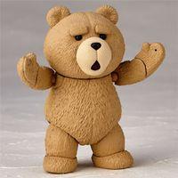 Wholesale Cute Big Teddies - LilyToyFirm Funko Pop Movie Teddy Bear Cute Movable 006# Doll Figurine PVC Figure Resin Collection Model Toy Gifts