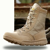 Wholesale Tan Tactical Lights - Men's Fashion,Men,Boots,leather,Sport,High help,Shoes,Sand color,Sports & Outdoors,Waterproof,Outdoor,Hiking,travelshoe,tactical boots,deser