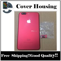 Wholesale New Products For Iphone - Free Shipping Airey New Product Red Color iPhone 6 6 Plus 6S 6S Plus Back Cover Red Housing Replacement like iPhone 7 7+