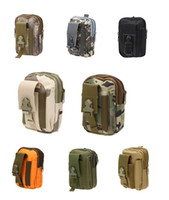 Wholesale Military Camouflage Bag for Men Tactical Phone Bags Camo Waterproof Backpack Molle Bag Sport Waist Belt Cellphone Hunting Bags