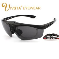 Wholesale Geek Frames - IVSTA Flip Sunglasses UV400 Glasses Men TR Silicone Optical Spectacle Frame Myopia custom Lense Geek Eyeglass GL821 Sports Cycling