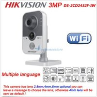 Wholesale Hikvision DS CD2432F IW MP POE Built in Mic WiFi Audio IR IP Network Camera