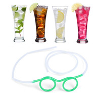 Wholesale Novelty Drinking Straws Kids - Drinking Glasses straw fun novelty soft tube flexible unique kid adult funny drinking straws party Party must great products for restaurant