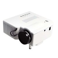 Wholesale Input Video Pc - UC28 Multimedia Portable Mini Hd Led Projector Cinema Theater Support Pc Laptop HDMI VGA Input and SD USB AV with Remote Control
