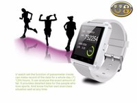 Wholesale Watches For Big Wrists - Factory Direct Smartwatches Bluetooth Smart Watch U8 for Ios and Andriod Mobile Phone Big Promotional U8