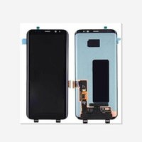 Wholesale Oem Digitizer Touch - OEM New Test AMOLED LCD Touch Screen Digitizer Replacement For Samsung Galaxy S8 G950 S8+ S8 Plus G955
