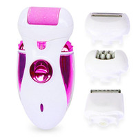 Wholesale Hot new rechargeable electric device four Pedicure grinding foot one multifunctional grinding foot lady Epilator