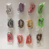 Wholesale Ego Cigarete Electronic - Colorful Ego Necklace Chain Lanyard E-Cigarette EGO EGO-T little rope portable pendant for eGo,eGo-t,eGo-w,eGo-c Electronic cigarete
