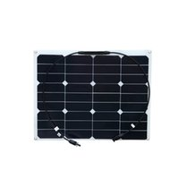 Wholesale Flexible Solar Battery - Solarparts 40W flexible solar panel  12V battery charger sunpower cells for home Boats Yachts LED light