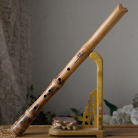Wholesale Woodwind Musical Instruments - Wholesale-Wooden Tang shakuhachi Japanese flute outer incision South xiao Musical Instruments Woodwind Instruments flauta Piccolo